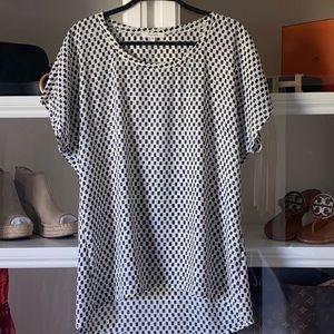 Pleione checkered blouse